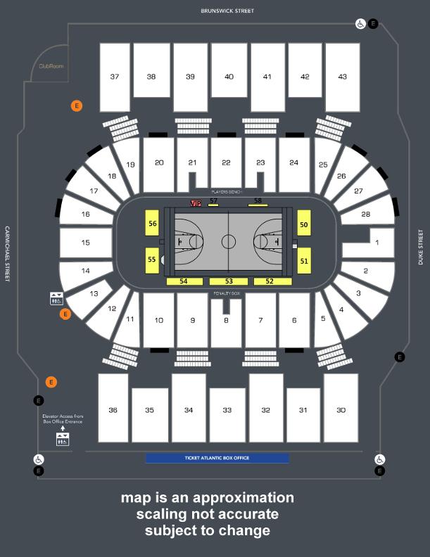 View Seating Plan